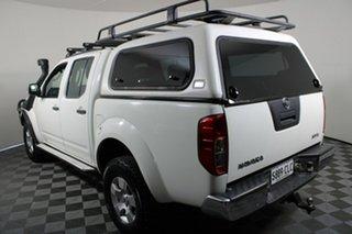 2007 Nissan Navara D40 ST-X White 6 Speed Manual Utility