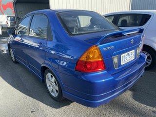 2004 Suzuki Liana Blue 5 Speed Manual Sedan.