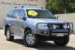 2008 Toyota Landcruiser UZJ200R GXL Blue 5 Speed Sports Automatic Wagon.