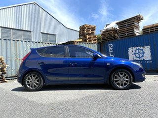 2012 Hyundai i30 FD MY11 Trophy Blue 4 Speed Automatic Hatchback.