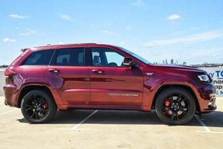 2017 Jeep Grand Cherokee WK MY18 SRT Maroon 8 Speed Sports Automatic Wagon.
