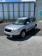 2013 Skoda Yeti 5L MY13 77 TSI (4x2) Silver 6 Speed Manual Wagon.