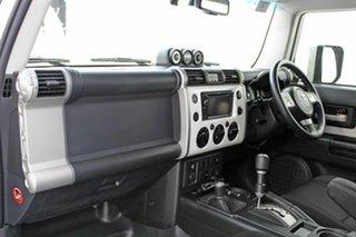 2014 Toyota FJ Cruiser GSJ15R MY14 Pearl White 5 Speed Automatic Wagon