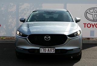 2020 Mazda CX-30 CX-30A G20 Touring (FWD) Silver 6 Speed Automatic Wagon.