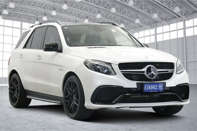 Used Mercedes-Benz GLE-Class W166 GLE63 AMG SPEEDSHIFT PLUS 4MATIC S Victoria Park, 2016 Mercedes-Benz GLE-Class W166 GLE63 AMG SPEEDSHIFT PLUS 4MATIC S White 7 Speed
