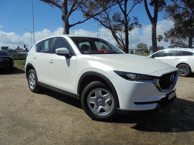 Used Mazda CX-5 KF4WLA Maxx SKYACTIV-Drive i-ACTIV AWD Mornington, 2017 Mazda CX-5 KF4WLA Maxx SKYACTIV-Drive i-ACTIV AWD Snowflake White Pearl 6 Speed