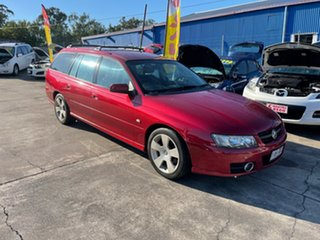 2006 Holden Commodore VZ MY06 SVZ Maroon 4 Speed Automatic Wagon.