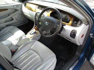 2001 Jaguar X-Type Blue 4 Speed Automatic Sedan.