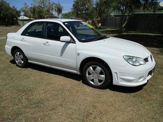 2007 Subaru Impreza S MY07 RS AWD White 4 Speed Automatic Sedan