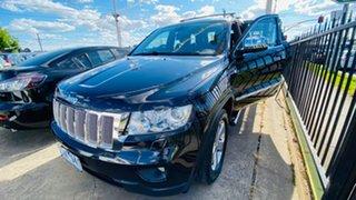 2012 Jeep Grand Cherokee WK MY2012 Laredo Black 5 Speed Sports Automatic Wagon