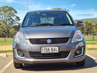 2014 Suzuki Swift FZ MY14 GL Navigator Grey 4 Speed Automatic Hatchback.