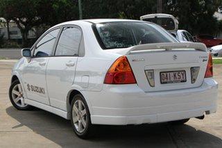 2006 Suzuki Liana TYPE 5 Z Series White 4 Speed Automatic Sedan.