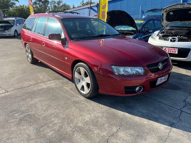 Used Holden Commodore VZ MY06 SVZ Clontarf, 2006 Holden Commodore VZ MY06 SVZ Maroon 4 Speed Automatic Wagon