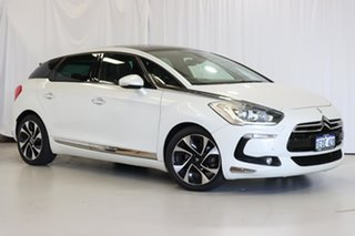 2012 Citroen DS5 DSport THP 155 White 6 Speed Automatic Hatchback.