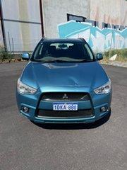 2010 Mitsubishi ASX XA (4WD) Blue 6 Speed Manual Wagon.