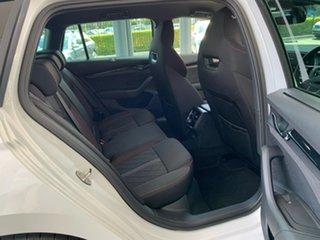 2021 Skoda Octavia NX MY21 RS DSG White 7 Speed Sports Automatic Dual Clutch Wagon