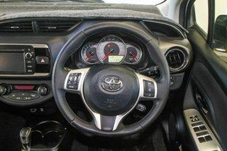 2014 Toyota Yaris NCP131R MY15 ZR Glacier White 4 Speed Automatic Hatchback