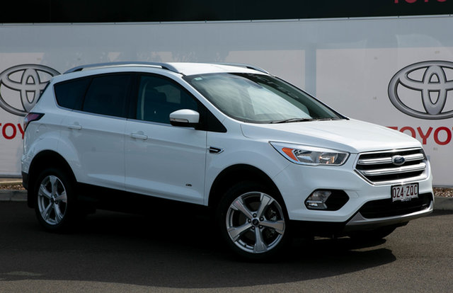Pre-Owned Ford Escape ZG MY18 Trend (AWD) Warwick, 2017 Ford Escape ZG MY18 Trend (AWD) Glacier White 6 Speed Automatic SUV