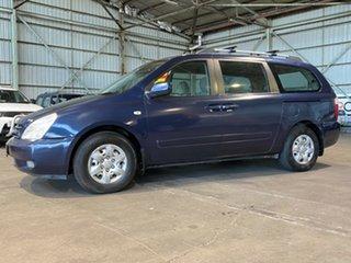 2006 Kia Grand Carnival VQ EX Blue 5 Speed Sports Automatic Wagon.