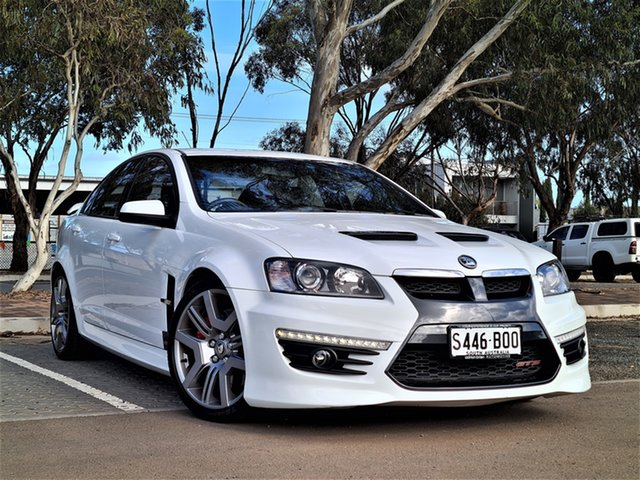 Used Holden Special Vehicles GTS E Series 2 St Marys, 2010 Holden Special Vehicles GTS E Series 2 White 6 Speed Sports Automatic Sedan