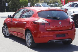 2014 Renault Megane III B95 Phase 2 GT-Line EDC Red 6 Speed Sports Automatic Dual Clutch Hatchback.