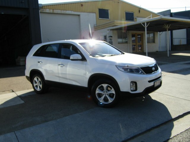 Used Kia Sorento XM MY13 SI Moorooka, 2012 Kia Sorento XM MY13 SI White 6 Speed Sports Automatic Wagon