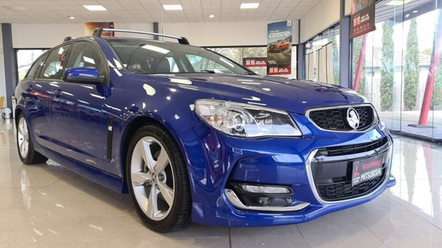 Pre-Owned Holden Commodore VF MY15 SS Sportwagon Wonthaggi, 2015 Holden Commodore VF MY15 SS Sportwagon Blue 6 Speed Sports Automatic Wagon
