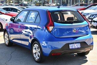 2021 MG MG3 SZP1 MY21 Core Regal Blue 4 Speed Automatic Hatchback
