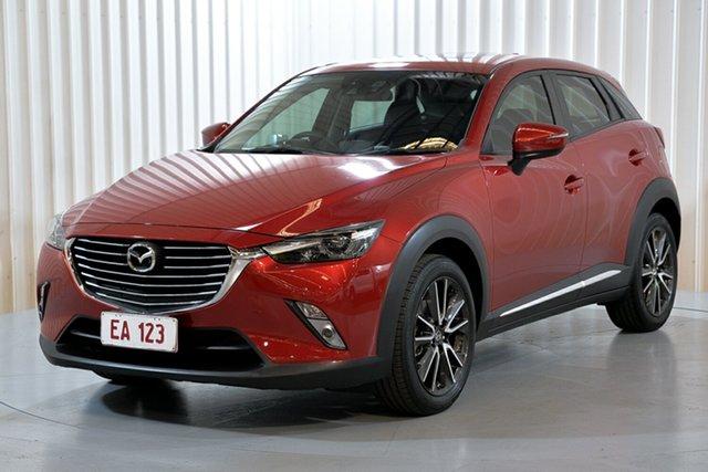 Used Mazda CX-3 DK4W7A Akari SKYACTIV-Drive i-ACTIV AWD Hendra, 2015 Mazda CX-3 DK4W7A Akari SKYACTIV-Drive i-ACTIV AWD Red 6 Speed Sports Automatic Wagon