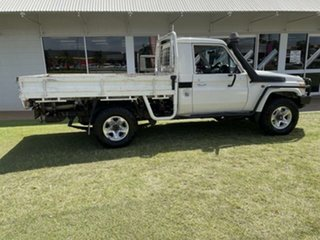 2014 Toyota Landcruiser VDJ79R MY12 Update GX (4x4) 5 Speed Manual Cab Chassis