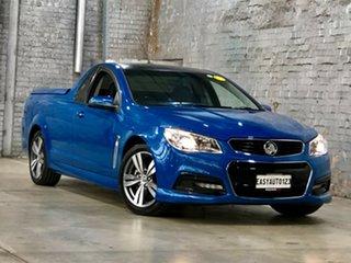 2015 Holden Ute VF MY15 SV6 Ute Blue 6 Speed Manual Utility.