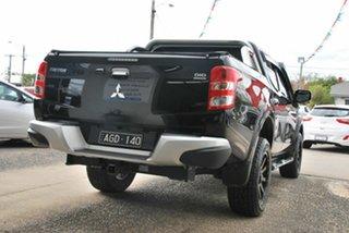 2015 Mitsubishi Triton MQ MY16 Exceed (4x4) Black 5 Speed Automatic Dual Cab Utility