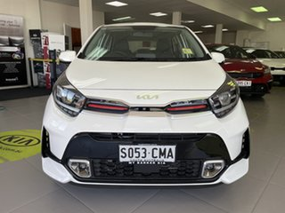2021 Kia Picanto JA MY22 GT Clear White 5 Speed Manual Hatchback.