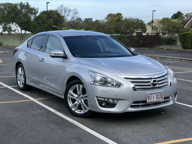 Used Nissan Altima L33 Ti-S X-tronic Chermside, 2014 Nissan Altima L33 Ti-S X-tronic Silver 1 Speed Constant Variable Sedan