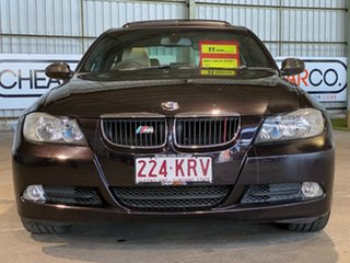 2007 BMW 3 Series E90 320d Steptronic Black 6 Speed Sports Automatic Sedan