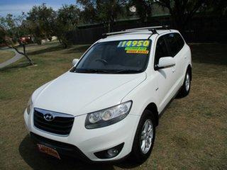 2009 Hyundai Santa Fe CM MY09 SLX White 5 Speed Sports Automatic Wagon