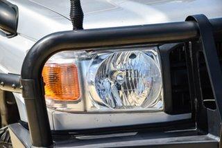 2016 Toyota Landcruiser VDJ76R Workmate Silver 5 Speed Manual Wagon