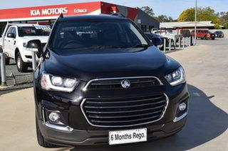 2017 Holden Captiva CG MY17 Active Black 6 Speed Automatic Wagon.