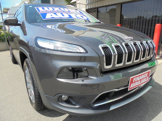 Used Jeep Cherokee KL MY17 Limited Edwardstown, 2017 Jeep Cherokee KL MY17 Limited Grey 9 Speed Sports Automatic Wagon