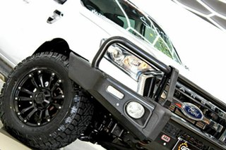 2017 Ford Ranger PX MkII MY18 XLT 3.2 Hi-Rider (4x2) White 6 Speed Automatic Crew Cab Pickup.