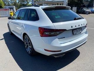 2021 Skoda Superb NP MY21 206TSI DSG SportLine White 6 Speed Sports Automatic Dual Clutch Wagon