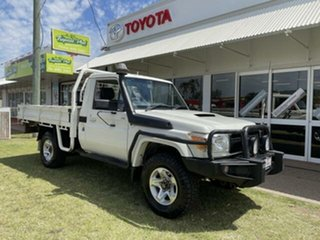 2014 Toyota Landcruiser VDJ79R MY12 Update GX (4x4) 5 Speed Manual Cab Chassis.