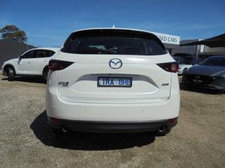 2017 Mazda CX-5 KF4WLA Maxx SKYACTIV-Drive i-ACTIV AWD Snowflake White Pearl 6 Speed.