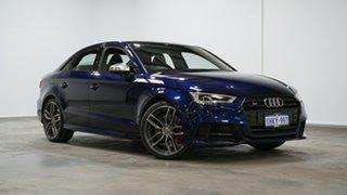 2018 Audi S3 8V MY18 S Tronic Quattro 7 Speed Sports Automatic Dual Clutch Sedan.