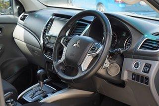 2018 Mitsubishi Triton MQ MY18 Blackline Double Cab Starlight 5 Speed Sports Automatic Utility