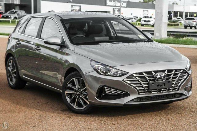 New Hyundai i30 PD.V4 MY22 Elite Nailsworth, 2021 Hyundai i30 PD.V4 MY22 Elite Fluidic Metal 6 Speed Sports Automatic Hatchback