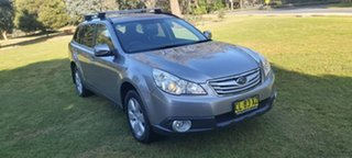 2011 Subaru Outback B5A MY11 2.5i Lineartronic AWD Touring Silver 6 Speed Constant Variable Wagon.