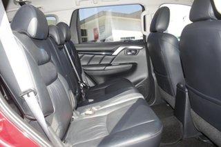 2016 Mitsubishi Pajero Sport QE MY16 GLS Red 8 Speed Sports Automatic Wagon