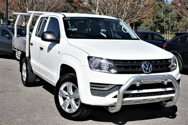 Used Volkswagen Amarok 2H MY17 TDI420 4MOTION Perm Core Phillip, 2017 Volkswagen Amarok 2H MY17 TDI420 4MOTION Perm Core White 8 Speed Automatic Utility