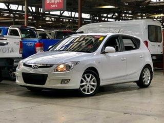 2009 Hyundai i30 FD MY09 SX White 4 Speed Automatic Hatchback.